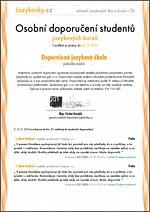 zkušenosti studentů, reference, certifikát CHANNEL CROSSINGS
